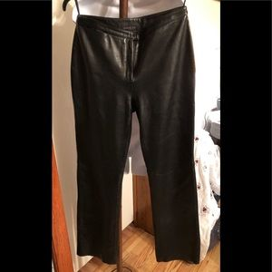 Leather pants - women's Express Brand size 9/10